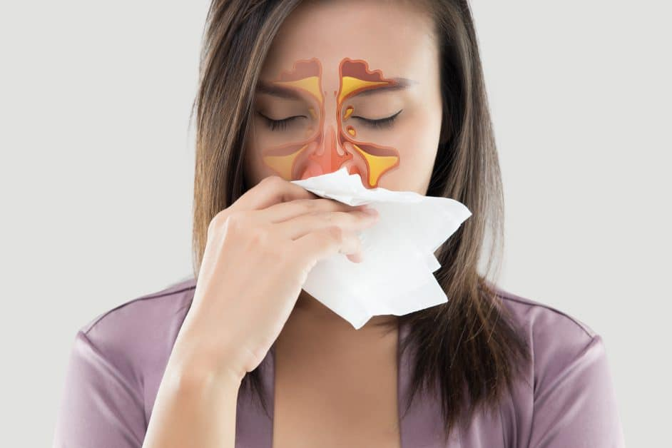 Why am I losing My voice?, nasal congestion